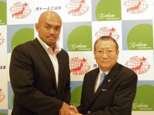 全日本プロレス秋山社長との記者会見